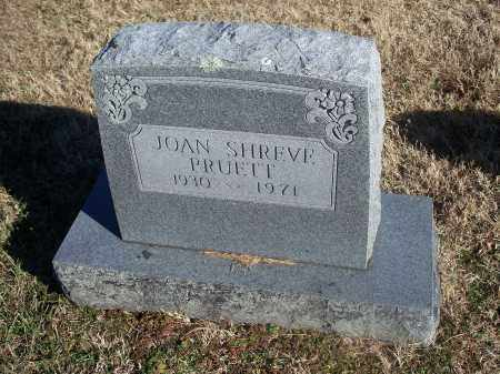 SHREVE PRUETT, JOAN - Washington County, Arkansas | JOAN SHREVE PRUETT - Arkansas Gravestone Photos