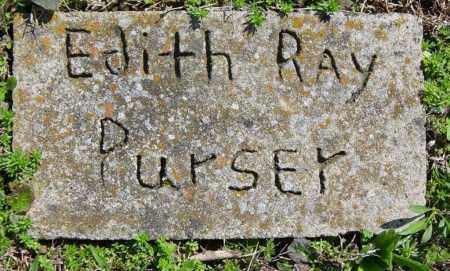 PURSER, EDITH RAY - Washington County, Arkansas | EDITH RAY PURSER - Arkansas Gravestone Photos