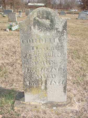 QUILLIN, CORDELIA C. - Washington County, Arkansas | CORDELIA C. QUILLIN - Arkansas Gravestone Photos