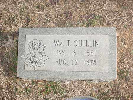 QUILLIN, WILLIAM THOMAS - Washington County, Arkansas | WILLIAM THOMAS QUILLIN - Arkansas Gravestone Photos