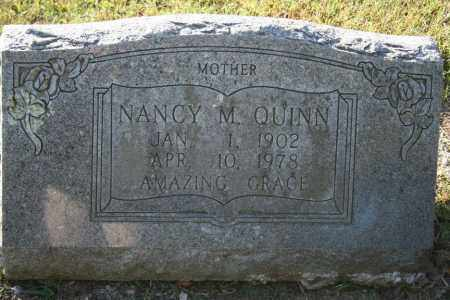 QUINN, NANCY M. - Washington County, Arkansas | NANCY M. QUINN - Arkansas Gravestone Photos