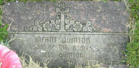 QUINTON, INFANT SON - Washington County, Arkansas | INFANT SON QUINTON - Arkansas Gravestone Photos