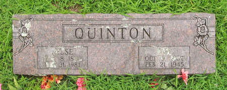 QUINTON, EVA - Washington County, Arkansas | EVA QUINTON - Arkansas Gravestone Photos