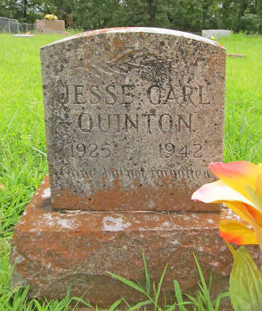 QUINTON, JESSE CARL - Washington County, Arkansas | JESSE CARL QUINTON - Arkansas Gravestone Photos