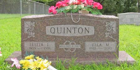 QUINTON, LESTER L - Washington County, Arkansas | LESTER L QUINTON - Arkansas Gravestone Photos