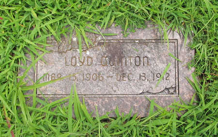 QUINTON, LOYD - Washington County, Arkansas | LOYD QUINTON - Arkansas Gravestone Photos