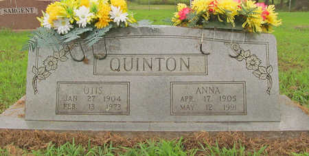 QUINTON, ANNA - Washington County, Arkansas | ANNA QUINTON - Arkansas Gravestone Photos