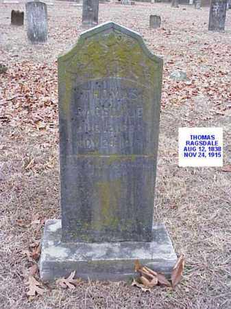 RAGSDALE, THOMAS - Washington County, Arkansas | THOMAS RAGSDALE - Arkansas Gravestone Photos