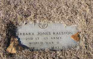 RALSTON (VETERAN WWII), BARBARA ANN - Washington County, Arkansas | BARBARA ANN RALSTON (VETERAN WWII) - Arkansas Gravestone Photos