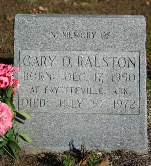RALSTON, GARY D. - Washington County, Arkansas | GARY D. RALSTON - Arkansas Gravestone Photos