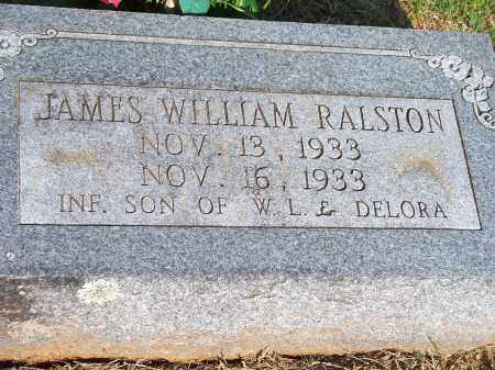 RALSTON, JAMES WILLIAM - Washington County, Arkansas | JAMES WILLIAM RALSTON - Arkansas Gravestone Photos