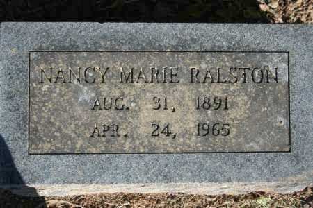 RALSTON, NANCY MARIE - Washington County, Arkansas | NANCY MARIE RALSTON - Arkansas Gravestone Photos
