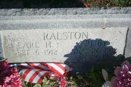 VAUGHAN RALSTON, RUBY H. - Washington County, Arkansas | RUBY H. VAUGHAN RALSTON - Arkansas Gravestone Photos
