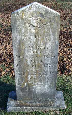 RAY, MATTIE E. - Washington County, Arkansas | MATTIE E. RAY - Arkansas Gravestone Photos