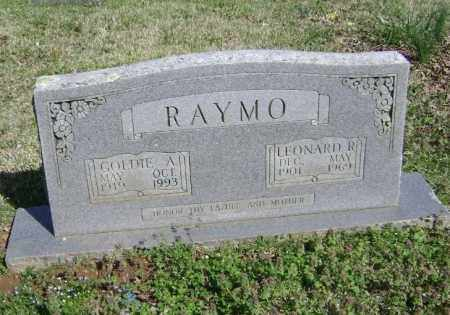 RAYMO, LEONARD R. - Washington County, Arkansas | LEONARD R. RAYMO - Arkansas Gravestone Photos