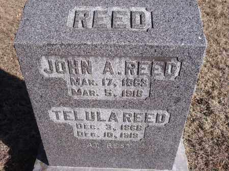REED, JOHN A. - Washington County, Arkansas | JOHN A. REED - Arkansas Gravestone Photos