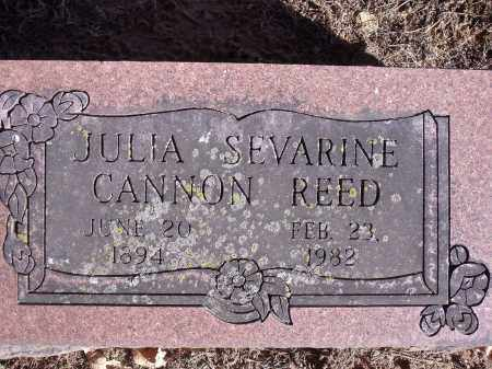 REED, JULIA SEVARINE - Washington County, Arkansas | JULIA SEVARINE REED - Arkansas Gravestone Photos