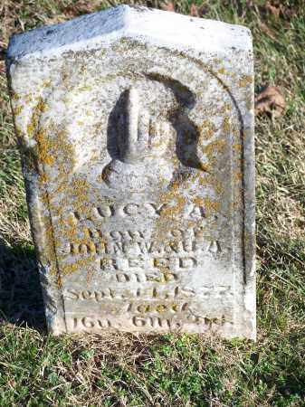 REED, LUCY A. - Washington County, Arkansas | LUCY A. REED - Arkansas Gravestone Photos