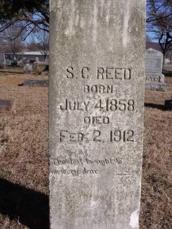 REED, S.C. - Washington County, Arkansas | S.C. REED - Arkansas Gravestone Photos