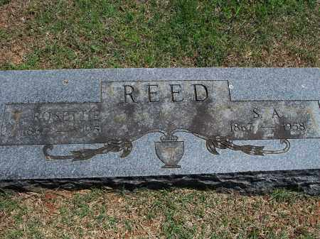 REED, S.A. - Washington County, Arkansas | S.A. REED - Arkansas Gravestone Photos
