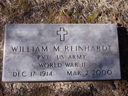 REINHARDT (VETERAN WWII), WILLIAM M - Washington County, Arkansas | WILLIAM M REINHARDT (VETERAN WWII) - Arkansas Gravestone Photos