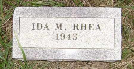 RHEA, IDA M. - Washington County, Arkansas | IDA M. RHEA - Arkansas Gravestone Photos