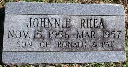RHEA, JOHNNIE - Washington County, Arkansas | JOHNNIE RHEA - Arkansas Gravestone Photos