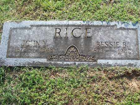 RICE, BESSIE B. - Washington County, Arkansas | BESSIE B. RICE - Arkansas Gravestone Photos