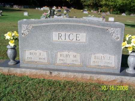 RICE, ROY FRANKLIN - Washington County, Arkansas | ROY FRANKLIN RICE - Arkansas Gravestone Photos