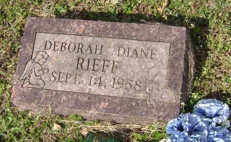 RIEFF, DEBORAH DIANE - Washington County, Arkansas | DEBORAH DIANE RIEFF - Arkansas Gravestone Photos