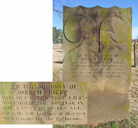 RIEFF, JOSEPH - Washington County, Arkansas | JOSEPH RIEFF - Arkansas Gravestone Photos