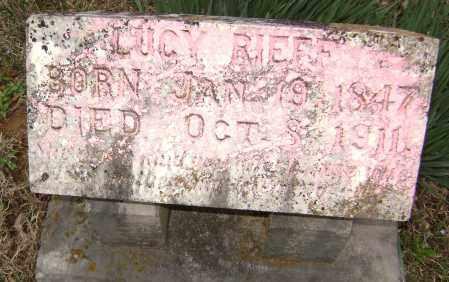 RIEFF, LUCY - Washington County, Arkansas | LUCY RIEFF - Arkansas Gravestone Photos