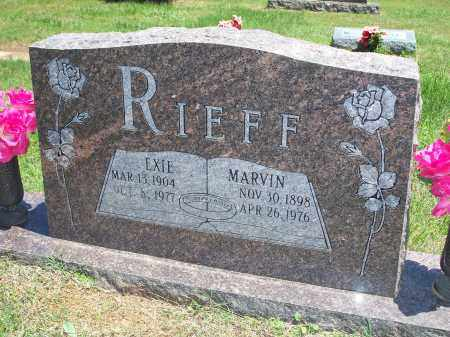 MCCLELLAND RIEFF, EXIE ELLEN - Washington County, Arkansas | EXIE ELLEN MCCLELLAND RIEFF - Arkansas Gravestone Photos