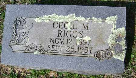 RIGGS, CECIL M. - Washington County, Arkansas | CECIL M. RIGGS - Arkansas Gravestone Photos