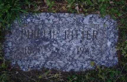 RITTER, PHILLIP - Washington County, Arkansas | PHILLIP RITTER - Arkansas Gravestone Photos
