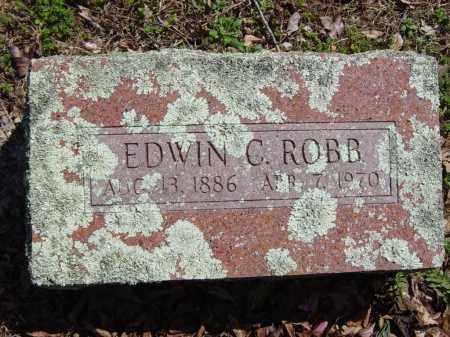 ROBB, EDWIN C. - Washington County, Arkansas | EDWIN C. ROBB - Arkansas Gravestone Photos