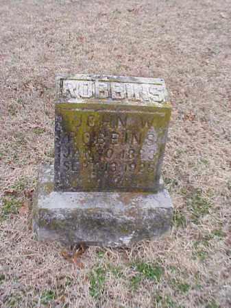 ROBBINS, JOHN W. - Washington County, Arkansas | JOHN W. ROBBINS - Arkansas Gravestone Photos