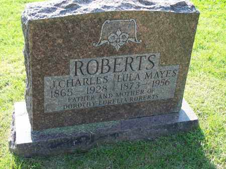 MAYES ROBERTS, LULA - Washington County, Arkansas | LULA MAYES ROBERTS - Arkansas Gravestone Photos