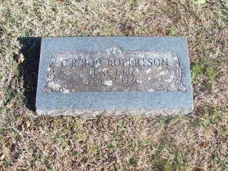 "ROBERTSON, C. R. ""ROB"" - Washington County, Arkansas 