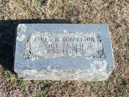 ROBERTSON, JAMES M. - Washington County, Arkansas | JAMES M. ROBERTSON - Arkansas Gravestone Photos