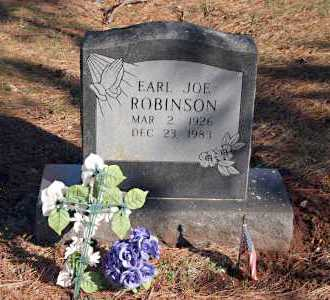 ROBINSON, EARL JOE - Washington County, Arkansas | EARL JOE ROBINSON - Arkansas Gravestone Photos