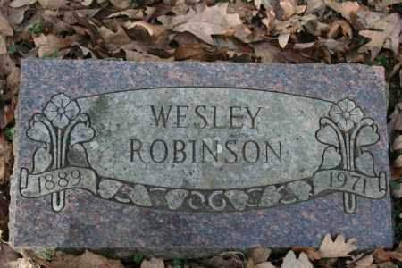ROBINSON, WESLEY - Washington County, Arkansas | WESLEY ROBINSON - Arkansas Gravestone Photos