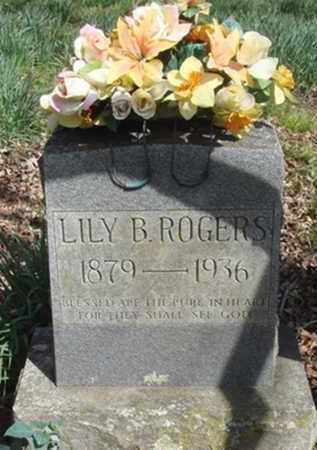 ROGERS, LILY B. - Washington County, Arkansas | LILY B. ROGERS - Arkansas Gravestone Photos