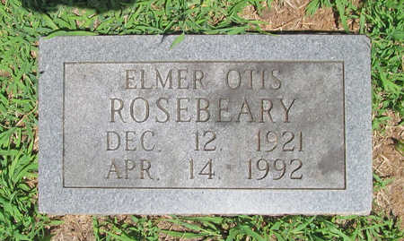 ROSEBEARY, ELMER OTIS - Washington County, Arkansas | ELMER OTIS ROSEBEARY - Arkansas Gravestone Photos