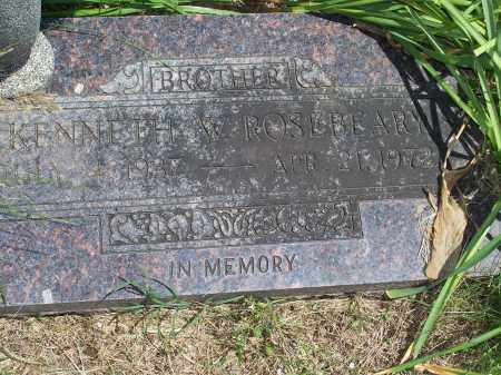 ROSEBEARY, KENNETH W. - Washington County, Arkansas | KENNETH W. ROSEBEARY - Arkansas Gravestone Photos
