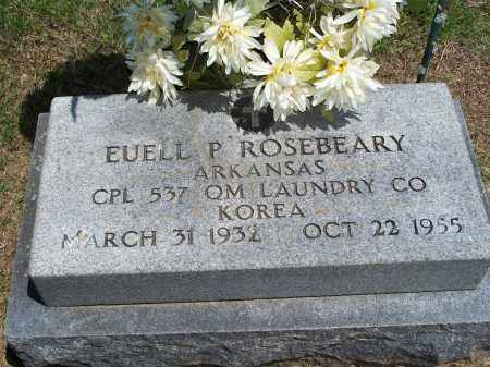 ROSEBEARY (VETERAN KOR), EUELL P - Washington County, Arkansas | EUELL P ROSEBEARY (VETERAN KOR) - Arkansas Gravestone Photos