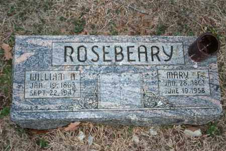 ROSEBEARY, MARY F - Washington County, Arkansas | MARY F ROSEBEARY - Arkansas Gravestone Photos