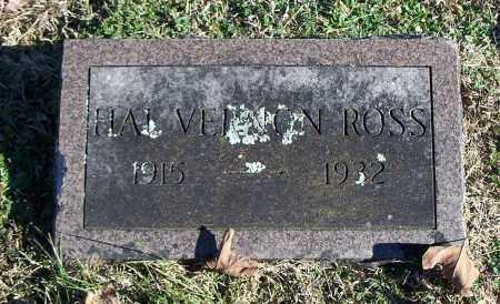 ROSS, HAL VERNON - Washington County, Arkansas | HAL VERNON ROSS - Arkansas Gravestone Photos