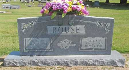ROUSE, LLOYD W. - Washington County, Arkansas | LLOYD W. ROUSE - Arkansas Gravestone Photos