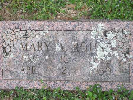 ROUSE, MARY A. - Washington County, Arkansas | MARY A. ROUSE - Arkansas Gravestone Photos
